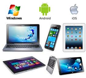 Ремонт ноутбуков и планшетов (Apple, Android)